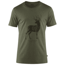 Deer Print T-shirt Men Tarmac