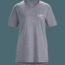 Bird Emblem T-Shirt SS Women Masset Heather