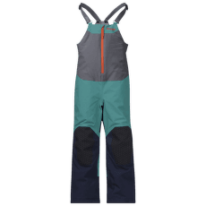 Ruffen Insulated Salopete Kids Green lake/Navy/Bright Magma