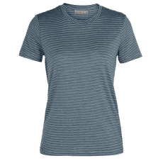 Dowlas SS Crewe Stripe Women GRAVEL