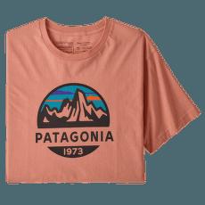 Fitz Roy Scope Organic T-Shirt Men Mellow Melon