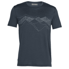 Spector SS Crewe Peak Patterns Men SERENE BLUE