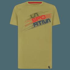 Stripe Evo T-Shirt Men Cedar