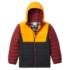 Powder Lite™ Hooded Jacket Boys Shark, Flame Or 012