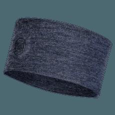 2 L Midweight Merino Wool Headband NIGHT BLUE MELANGE
