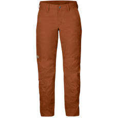 Nilla Trousers Women Autumn Leaf