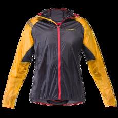 Blizzard Windbreaker Jacket Men Black/Yellow (Black Yellow)