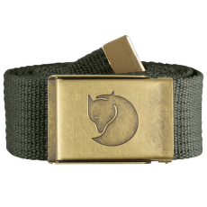 Canvas Brass Belt Mountain Grey
