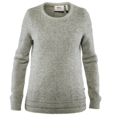 Övik Structure Sweater Women Egg Shell-Grey