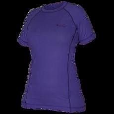 Triko krátký rukáv W CMF violet