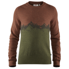 Greenland Re-Wool View Sweater Men Autumn Leaf