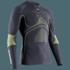 Energy Accumulator 4.0 Shirt Round Neck Men Charcoal/ Yellow