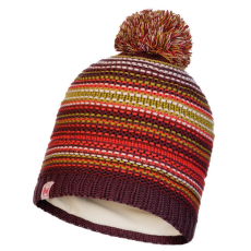 Junior Knitted&Polar Hat Amity MAROON