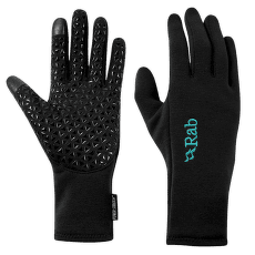 Power Stretch Contact Grip Glove Women Black