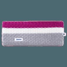 C39 - knitted headband grey