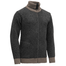 Nansen Zip Cardigan High Neck 940B ANTHRACITE/FALCON