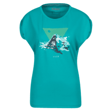 Mountain T-Shirt Women (1017-00964) dark ceramic
