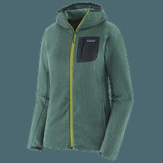 R1 Air Full-Zip Hoody Women Regen Green