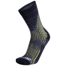 Trekking Wave Socks Men Grey Rock/Sage Green