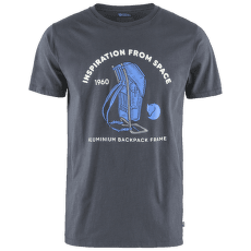 Space T-shirt Print Men Navy