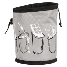 Gym Print Chalk Bag granit 0818