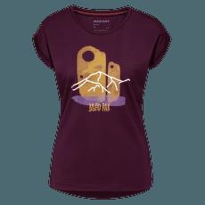 Mountain T-Shirt Women (1017-00965) grape PRT2