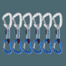 Crag Wire Quickdraws 10 cm 6P Silver-Ultramarine 19200