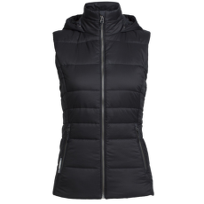 Stratus X Hooded Vest Women Black/Jet HTHR IBANS_00611