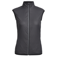 Rush Vest Folds Women Black/Embossed