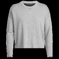 Carrigan Reversible Sweater Sweatshirt Women STEEL HTHR