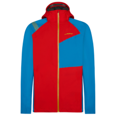 Run Jacket Men Poppy/Neptune