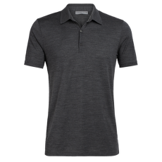 Tech Lite SS Polo Men (104124) Jet HTHR IBANS_00032