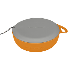 Delta Bowl with Lid Orange (OR)