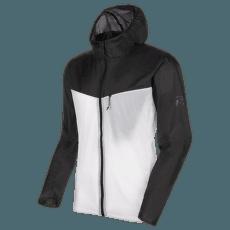 Convey WB Hooded Jacket Men black-bright white