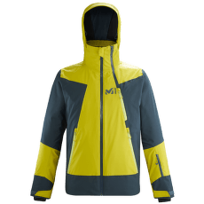 Alagna Stretch Jacket Men WILD LIME/ORION BLUE