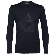 Tech Lite LS Crewe Oneberg Men Midnight Navy