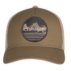 Icebreaker Graphic Hat Unisex FLINT/BRITISH TAN