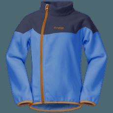 Ruffen Fleece Jacket Kids Athens Blue/Navy/Desert