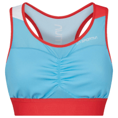 Captive Top Women Malibu Blue/Hibiscus