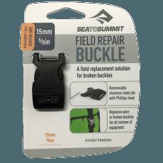 Buckle 15mm side release 1 pin Black