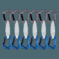 Workhorse Keylock Quickdraws 12 cm 6P Grey-Blue 33275
