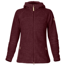 Kaitum Fleece Women Dark Garnet