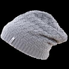 Knitted beanie A123 grey