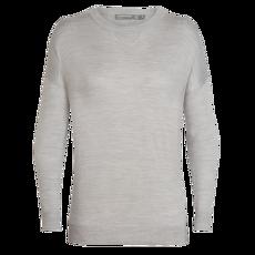 Nova Sweater Sweatshirt Women Blizzard HTHR IBANS_00002