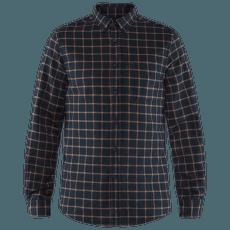 Övik Flannel Shirt Men Dark Navy