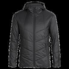 Helix Hooded Jacket Men Black