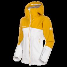 Masao HS Hooded Jacket Women Bright white-golden 00333