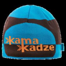 K62 Knitted Beanie cyan 115