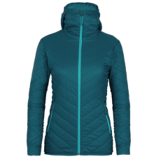Hyperia Hooded Jacket Women Kingfisher/ARCTIC TEAL