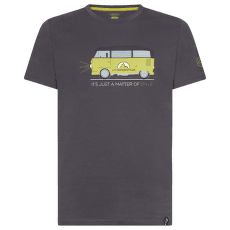Van T-Shirt Men Carbon/Kiwi